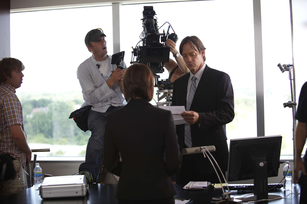 "Kevin Sorbo (right) stars in the film ""What If..."" Photo courtesy of Director Dallas Jenkins."