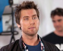 Actor Lance Bass Drop Dead Diva