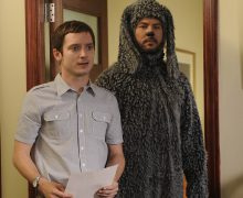 "Elijah Wood and Jason Gann star in ""Wilfred."" Photo by Ray Mickshaw."