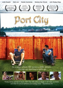 "StayFamous.Net quote featured on the front cover of the ""Port City"" DVD."