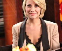 Chelsea Kane guest stars on the season 4 finale of Drop Dead Diva, Sept. 9 on Lifetime. Photo by Annette Brown.