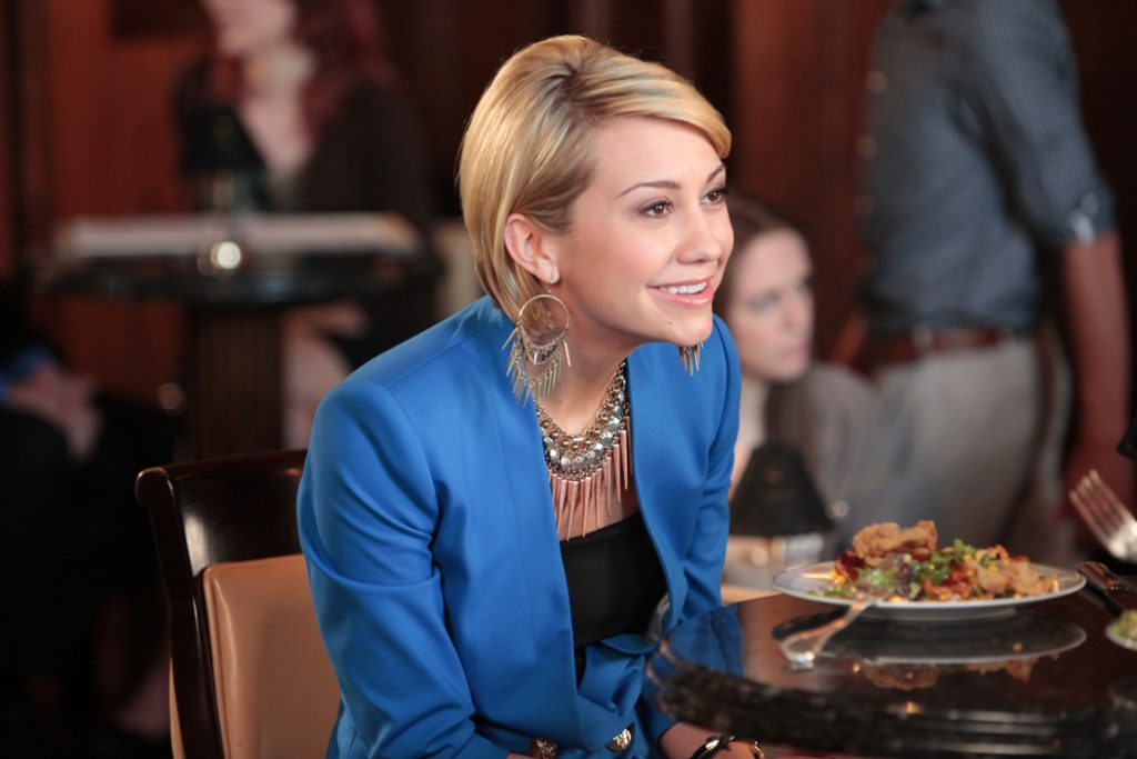 Actress Chelsea Kane guest stars on the season finale of Lifetime's Drop Dead Diva.