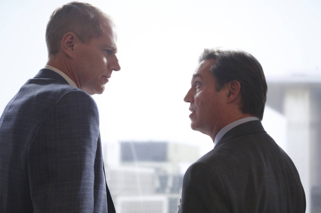 """Noah Emmerich (left) and Richard Thomas star in the FX drama """"The Americans."""""""