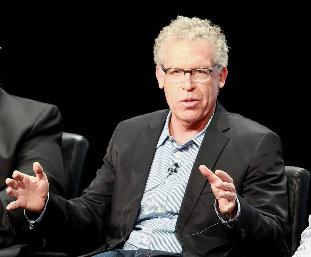 "Showrunner/EP Carlton Cuse participates in ""The Strain"" portion of the FX 2014 Summer TCA Press Tour at The Beverly Hilton Hotel on July 21, 2014 in Beverly Hills, California. (Photo by Michael Underwood/PictureGroup)"