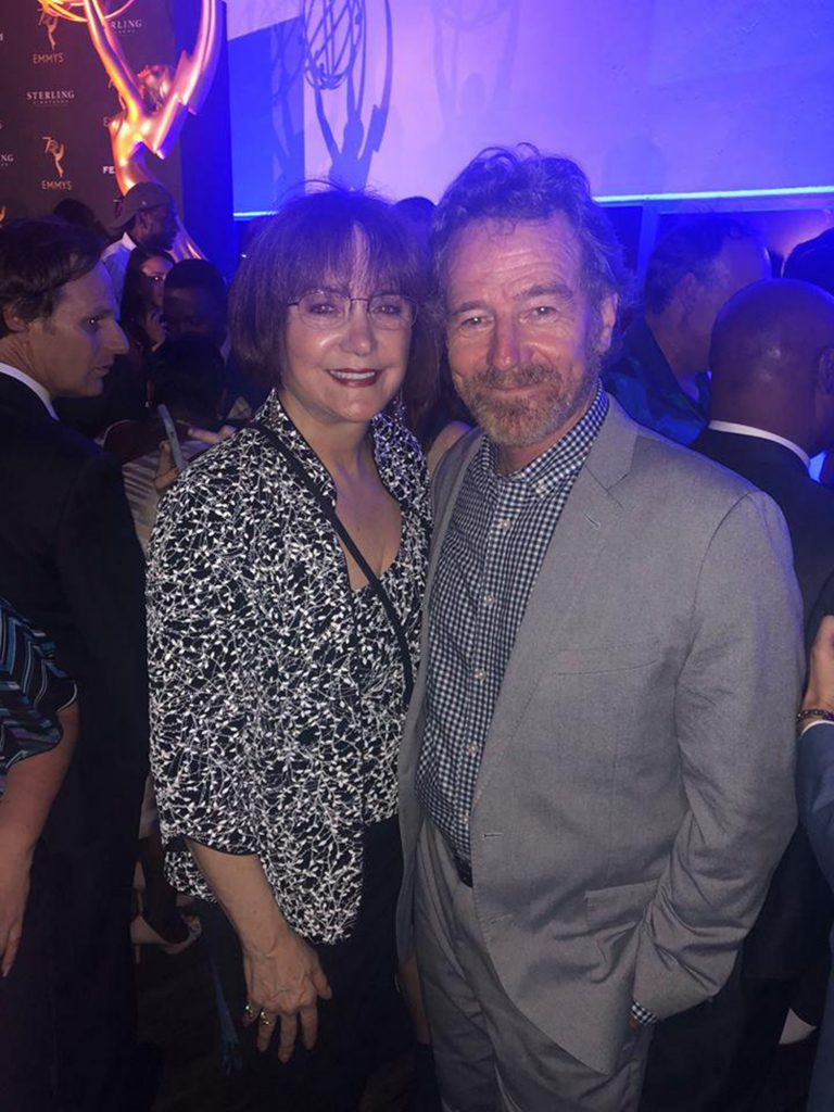 Lee Garlington and Bryan Cranston