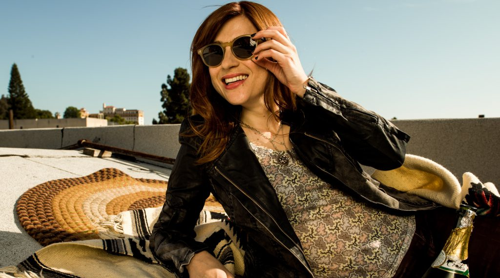 "Aya Cash stars as Gretchen Cutler in ""You're the Worst."" Photo by Autumn De Wilde/FX."