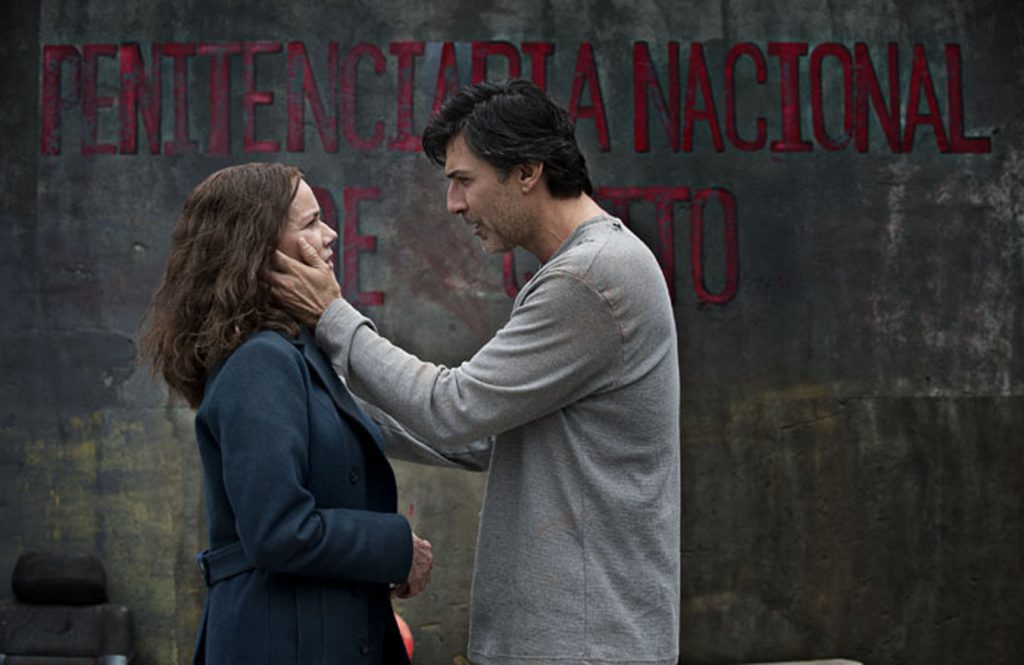"""Barbara Hershey and Vincent Irizarry star in the Lifetime Original Movie """"Left to Die."""""""