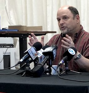 Jason Alexander Press Conference at Syracuse Stage. Photo by Michael Aaron Gallagher.